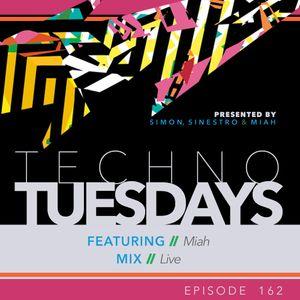Techno Tuesdays 162 - Miah - Live