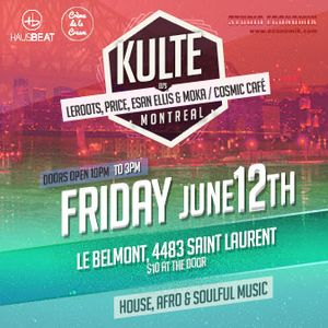 KULTE X MURAL [OFFICIAL AFTER-PARTY] FEATURING MOKA, LOUIS RACINE, GABE PRICE AND ESAN ELLIS