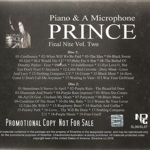 SL 096-097 - Piano & A Microphone Final Nite Vol. Two