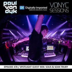 Paul van Dyk – Vonyc Sessions 478 [22.10.2015] Guest mix Solis & Sean Truby