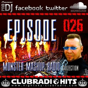 MONSTER MASHUP RADIOSHOW - RICHY PEACH / DJ MAGYAR Okt. 2015 VOL. #026