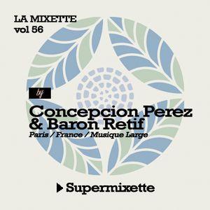 """LAMIXETTE#56 BARON RETIF & CONCEPCION PEREZ """"Superman"""""""