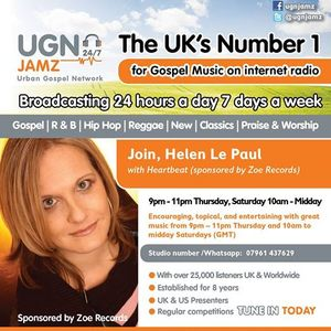 Renewal interviews Helen Le Paul Show
