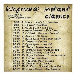 Hologroove - Instant Classics drum&bass mix 2008