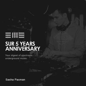SUR 5Y anniversary: Sasha Pacman