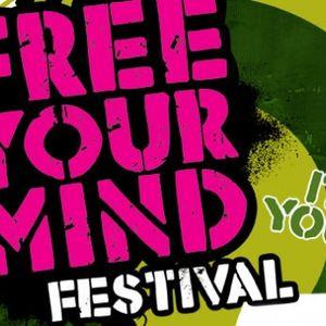 Frank Kvitta - Live @ Free Your Mind Festival, Stadsblokken Arnhem (Netherlands) - 02-06-2012