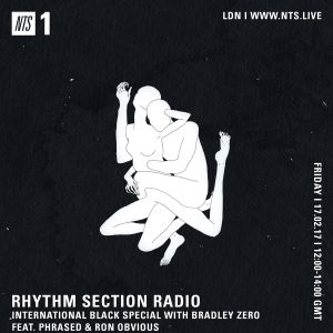 Rhythm Section w/ Phrased & Ron Obvious - 17th February 2017
