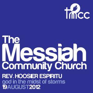 Rev. Hoosier Espiritu - God in the Midst of Storms [08/19/2012]