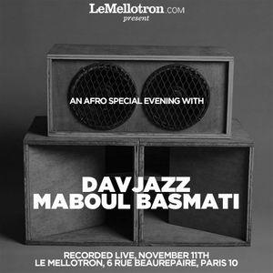 Maboul Basmati & DavJazz • Afro Special • LeMellotron.com