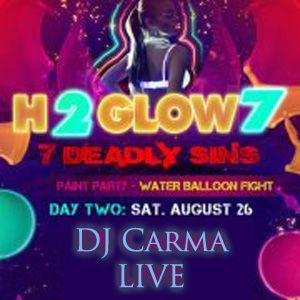 DJ Carma September Mix 2012 LIVE @ QUAD H2GLOW 8/24/2012