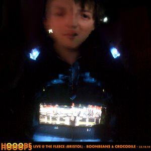 Hooops - Mix - Boonbeans & Crocodile 'Live @ The Fleece (Bristol)' - 23/10/10