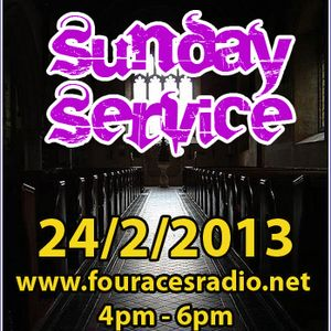 Rev Wright's Sunday Service 24/2/13 ft Charles Hedger