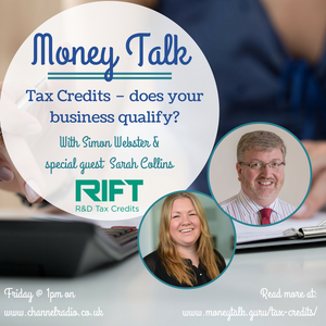 Tax Credits – does your business qualify? With Sarah Collins
