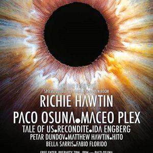 Richie Hawtin - Live At Enter.Main Week 01, Space (Ibiza) - 03-Jul-2014