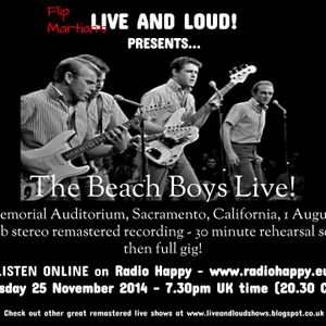 The Beach Boys - Rehearsals and Live in Sacramento - August 1964