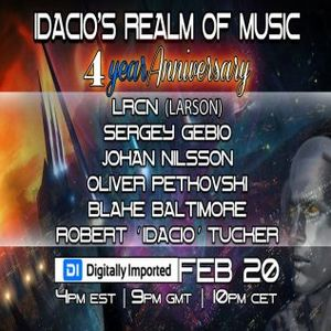 Idacio's Realm Of Music- 4th Anniversary on DI.FM