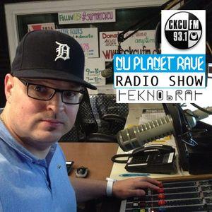 TEKNOBRAT live The Nu Planet Rave Show Episode 050 CKCU 93.1 FM Ottawa, CANADA 2014-10-26th