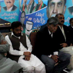 Press Conference of Major Group and PTI