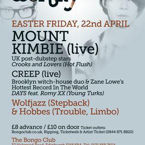 Wolfjazz & Hobbes, Wonky, Edinburgh (April '11): Late