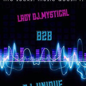 DJ-Unique & DJ.Mystical - b2b  uptempo stylee 2015 (dreamstream-fm.com fri 7/08/2015)
