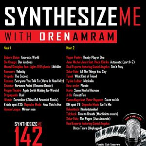 Synthesize Me #142 - 18/10/2015 - Hour 1
