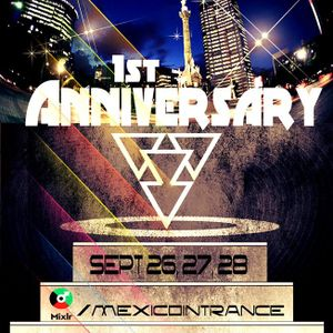 México In Trance 1rst Anniversary - Cosmic Canvas Guest Mix
