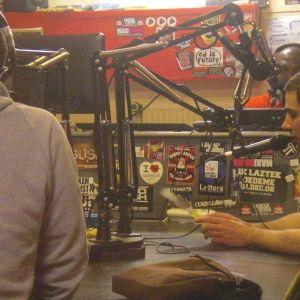 Emission La Voix du HipHop du 30 avril 2011 en special guest Back To Bionic