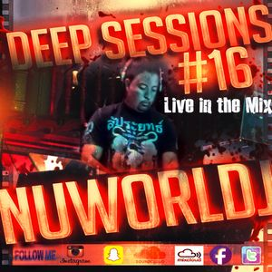 Deep Sessions #16 Live in the Mix....  Deep House, Breakbeat, Trap, Hip Hop, EDM