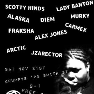 JZArector - Live Set for 50/50 Grime Melbourne Sat 21st Nov 2015