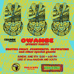 #OwambePhilly 2017 Mix