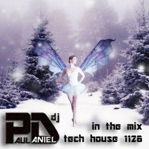 Paul Daniel in the mix tech house 1126