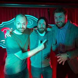 Show 209: Worldwide Comedy with Jim Williams (US) and Will Mars (UK)