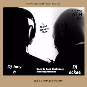 Dj Joey b & Dj ockee ( Back To Back Old School Monthly Sessions)