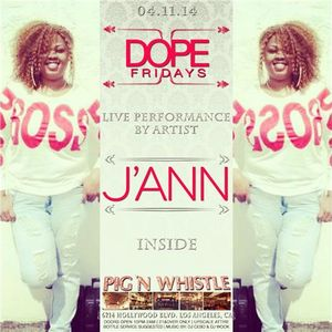 Indie Up Saturday featuring......J Ann and Loud Heavo