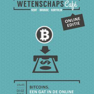 Wetenschapscafé (Online) - Bitcoins - 2 maart 2021