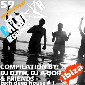 CATSTAR RECORDINGS RADIO SHOW 59 [Best in Ibiza 2016]