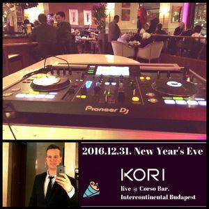 Kori live @ Corso Bar, Intercontinental Budapest_2016.12.31 (soulful & deep)