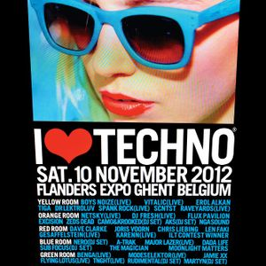 SCNTST - Live @ I Love Techno 2012 (Ghent, Belgium) - 10.11.2012