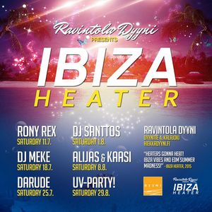 DJ Meke @ Ibiza Heater, Dyyni, Kalajoki [18.7.2015] reconstruction mixtape from event