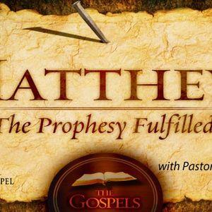 054-Matthew - Jesus, Lord of All Creation - Matthew 8:18-27 - Audio