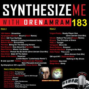 Synthesize Me #183 - 31/07/2016 - hour 3 - an interview with Nature Of Wires