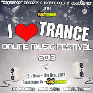Joe Cormack @ I Love Trance 2013 (10/04/2013)