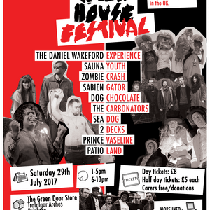 Gate Kicks!!-25/07/17Darren invite us to The Rock House Festival - 29/07/17 + Jamaica improv
