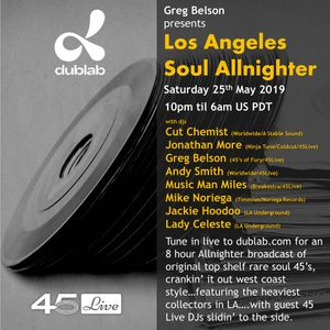 Los Angeles Soul Allniter w/Cut Chemist, Greg Belson, Jon