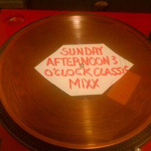 SUNDAY CLASSIC R&B MIXX (wild 101-'90's r&b flashbac 3')