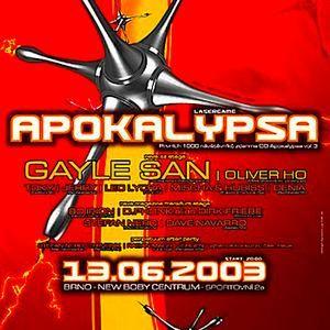 Gayle San @ Apokalypsa 15 (13.06.2003)