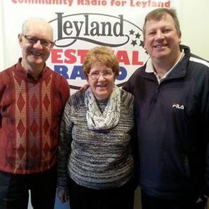 Breakfast Phil Gough 17/1/17 (Megan Titley, Leyland Guardian and Cllr Linda Woollard, SRBC Mayor).