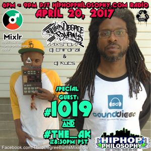 "1019 and The Ak!!! featuring the Unreleased yet album ""Solus Superstes"" Third Degree Burns Mixshow"""