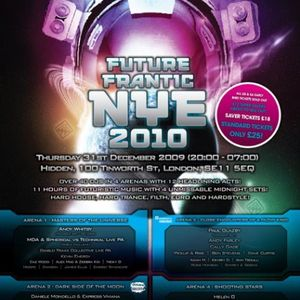 Dean Zone - Future Frantic NYE 2010 Mix