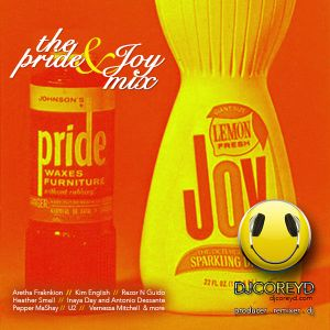 The PRIDE & JOY Mix - DJ Corey D